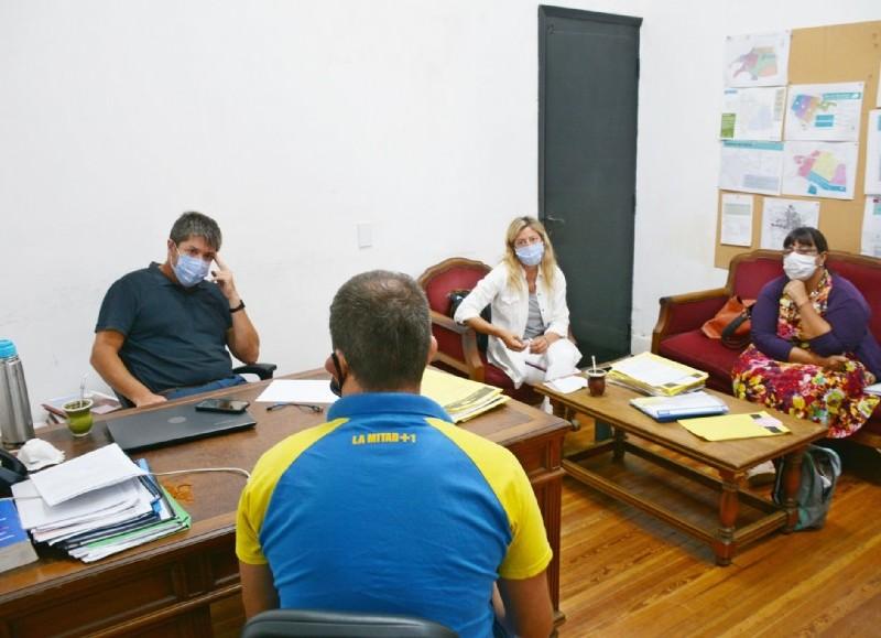 Hubo una reunión con el presidente, Sergio Nuñez, donde acordaron criterios, fechas y protocolos.