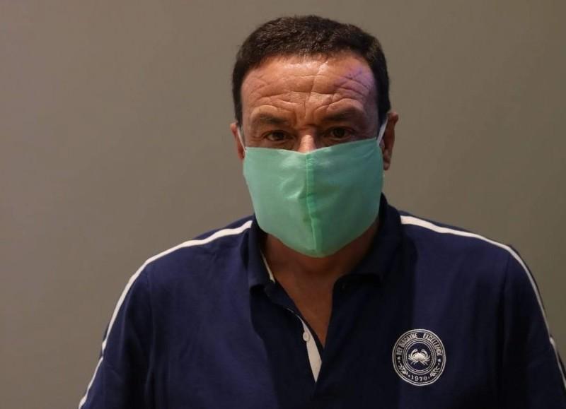 El intendente de Zárate, Osvaldo Cáffaro.