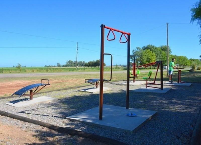 La Plaza Saludable en Duggan servirá para realizar una rutina completa de ejercicios físicos, beneficiosos para todo el cuerpo.