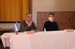 Intensa agenda del ministro Augusto Costa en nuestra ciudad