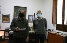 Entregaron subsidios para el centro de Jubilados y Pensionados de Solís