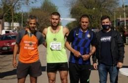 Jonatan Caruso y Macarena Boveri, ganadores de la Maratón de Cucullú