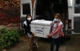 Llegaron a la ciudad 3100 vacunas de AstraZeneca