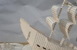 Zárate: barquito de papel